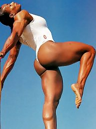 Black milf, Fbb, Muscle, Muscled, Ebony milf