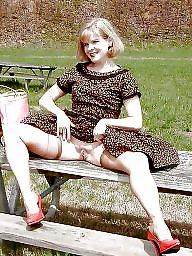 Upskirt, Public, Wide open, Wide, Public nudity, Voyeur