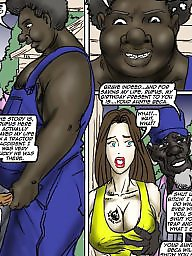 Interracial cartoons, Interracial cartoon, Cartoons, Rebecca, Cartoon interracial