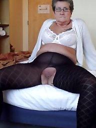 Granny, Granny bbw, Bbw granny, Clothed, Mature lingerie, Granny boobs
