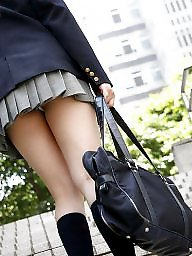 Asian upskirt, Japanese, Skirt