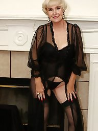 Mature stockings, Mature stocking, Mature lingerie, Lingerie, Black stockings, Stockings