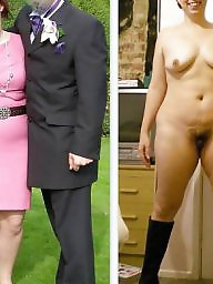 Naked, Dressing, Uk amateur, Wives, Dressed, Dress