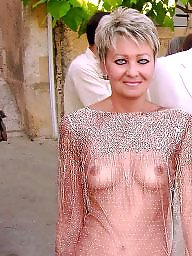 See through, Dressing, Nude in public, Public stockings, Nude, Nudity