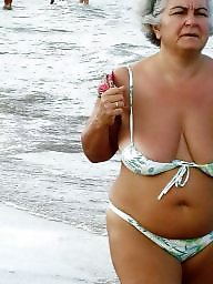 Granny beach, Granny, Mature beach, Grannies, Busty mature, Beach granny