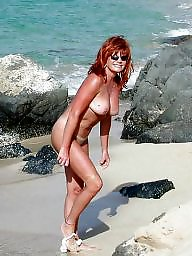 Mature beach, Milf beach, Beach mature