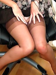 Stockings voyeur