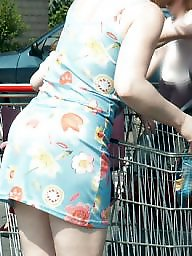 Short shorts, Short dress, Shorts, Dress, Supermarket, Dressed