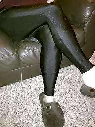 Leggings ass, Slippers, Leg, Spunk, Leggings