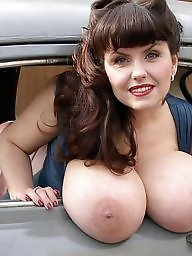 Big tits, Car, Public, Big tit, Big ass