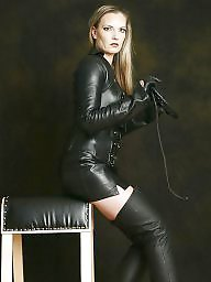 Leather, Fetish, No tits, Milf tits, Leather milf, Milf bdsm