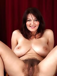 Hairy mature, Mature hairy, Lady, Lady b