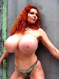Big boob, Redheads, Redhead, Big boobs, Big, Teddy