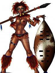 프레데터, 흑인여자