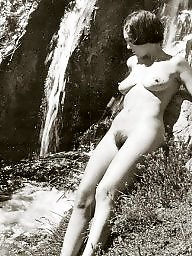 Naturists, Vintage, Amateur hairy