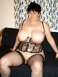Bbw stockings, Bbw stocking, Mature bbw, Mature stockings, Spunk, Mature tits