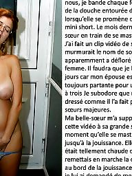 French, Slut captions, French caption, Housewife, French captions, Whores