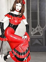 Rubber, Stockings, Femdom, Latex