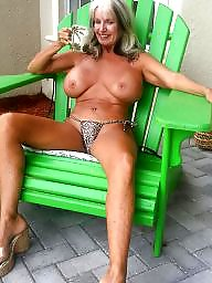 Leggings, Legs, Sally, Mature granny