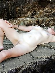 Mature outdoors, Mature outdoor, Nude, Mature nude, Outdoor mature