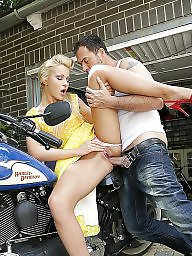 Kissing, Kiss, Biker