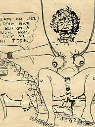 Bdsm cartoon, Drawings