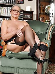 Upskirt stockings, Mature stockings, Mature lingerie, Upskirt mature, April