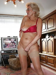 Granny stockings, Granny stocking, Grannies, Grannys, Granny, Mature stocking