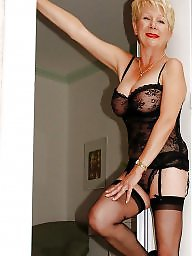 Grannies, Granny stockings, Mature stockings, Granny
