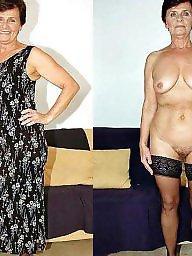 Granny amateur, Grannies, Undressed