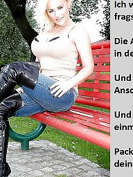German caption, Bdsm captions, Femdom captions, Femdom caption, Teen captions, German