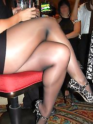 Milf nylon, Leg, Leggings