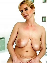 Mature tits, Saggy tits, Saggy, Blond mature