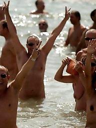 Nude beach, Bath, Bathing