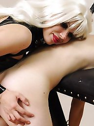 Femdom, Spank, Daughter, Young, Old