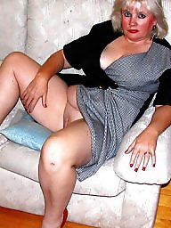 Hot bbw mature in skirt