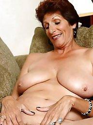 Granny, Granny tits, Sexy granny