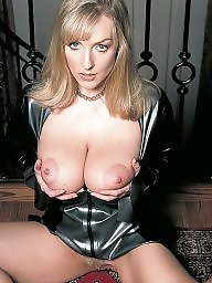 Mature dressed, Mature dress, Latex, Mature latex, Dress, Big mature