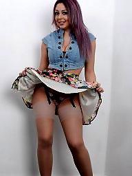 Stockings upskirt, Panty, Pantie, Voyeur, Pantys, Panties