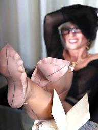 Lady barbara, Nylon feet
