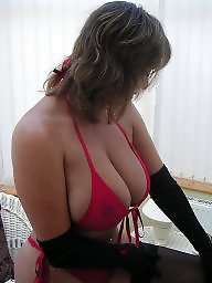 Mature amateur, Big boobs, Mature