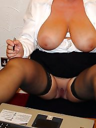 Mature tits, Mature big tits, Dress, Dressed