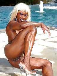 Ebony mature, Amateur mature, Black, Mature, Ebony, Muscle