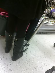 X boots, X boot, Voyeur candids, Voyeur candid, Flat, Boots,amateur