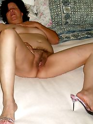 Old, Mature slut, Married, Old mature