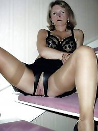 big tit matures stockings