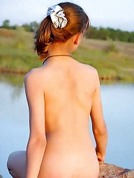 Small tits, Small, Girls, Girl, Nudists, Nudist