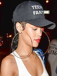 Pokies, Seethrough, Nips, Pokie, Ring, Rihanna