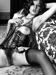Vintage stockings, Hairy stockings