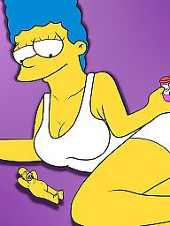Milf cartoon, Milf cartoons, Simpsons, Cartoon milf, Simpson